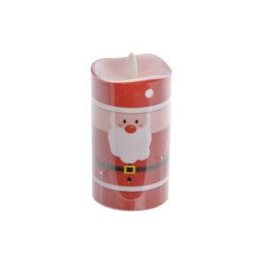 Adorno Natalício DKD Home Decor Vermelho LED