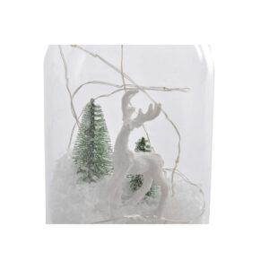 Adorno Natalício DKD Home Decor Branco LED