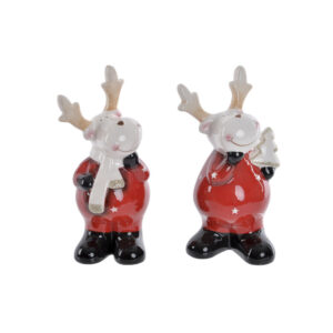 2 Figuras Decorativas DKD Home Decor Rena  (8 x 9 x 18 cm)