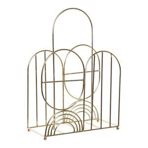 Porta-revistas DKD Home Decor Metal (32 x 14.5 x 47 cm)