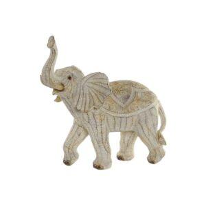 Figura Decorativa DKD Home Decor Resina Elefante (33.5 x 17 x 35 cm)
