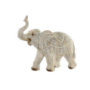 Figura Decorativa DKD Home Decor Resina Elefante (27 x 12 x 24.5 cm)