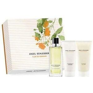 Conjunto de Perfume Mulher Flor de Naranjo Angel Schlesser (3 pcs)