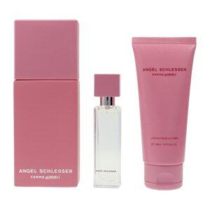 Conjunto de Perfume Mulher Femme Adorable Angel Schlesser EDT (3 pcs)