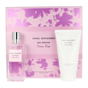 Conjunto de Perfume Mulher Peonia Rosa Angel Schlesser EDT (2 pcs)