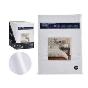 Conjunto de Lençóis Cama de 135 Branco (3 Peças)