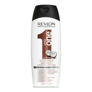 Champô + Condicionador Uniq One Coconut Revlon 300 ml
