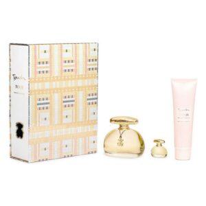 Conjunto de Perfume Mulher Touch The Original Gold Tous EDT (3 pcs)