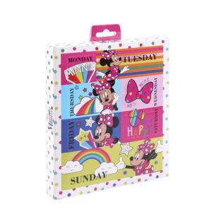 9 Acessórios para o Cabelo Minnie Mouse Multicolor