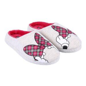 Chinelos Para Crianças / Adultos  Minnie Mouse Cinzento 36-37