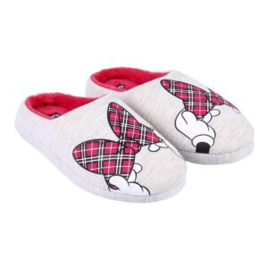 Chinelos Para Crianças / Adultos Minnie Mouse Cinzento 34-35