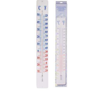 Esschert Design Placa termómetro de parede 90 cm TH9 - PORTES GRÁTIS