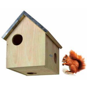 Esschert Design Casa para esquilos WA10 - PORTES GRÁTIS