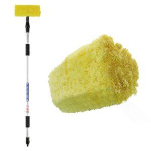 ProPlus Escova de lavar 3D com cabo telescópico 2,4 m 150685 - PORTES GRÁTIS