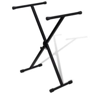 Suporte de teclado dobrável X-Frame - PORTES GRÁTIS