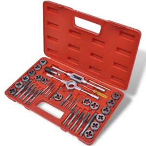 Conjunto ferramentas para abrir rosca, 40 peças  - PORTES GRÁTIS