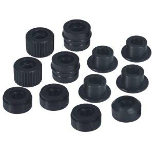 Porcas de flange para máquina curvadora de tubos 12 pcs aço - PORTES GRÁTIS