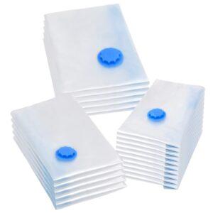 Sacos para arrumação de roupas a vácuo 3 tamanhos 20 pcs - PORTES GRÁTIS