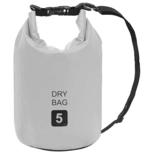 Bolsa impermeável 5 L PVC cinzento - PORTES GRÁTIS