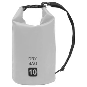 Bolsa impermeável 10 L PVC cinzento - PORTES GRÁTIS