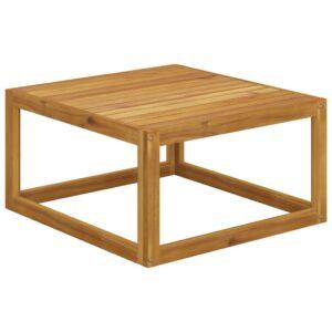 Mesa de centro 68x68x29 cm madeira de acácia maciça - PORTES GRÁTIS