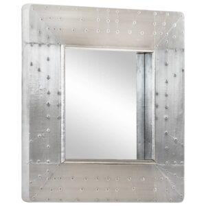 Espelho estilo aviador 50x50 cm metal - PORTES GRÁTIS