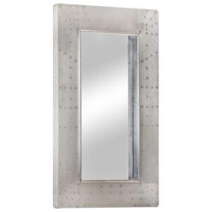 Espelho estilo aviador 80x50 cm metal - PORTES GRÁTIS
