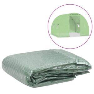 Cobertura de substituição p/ estufas 6 m² 200x300x200 cm verde - PORTES GRÁTIS