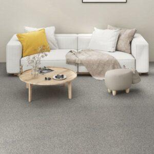 Carpete Para Pisos 16 pcs 4 m² 25x100 cm cinza-claro - PORTES GRÁTIS