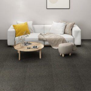 Carpete Para Pisos 16 pcs 4 m² 25x100 cm antracite - PORTES GRÁTIS