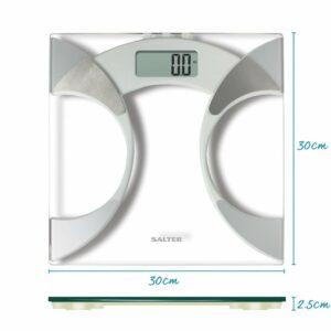 Balança digital para casa de banho 9141WH3R (Recondicionado A)