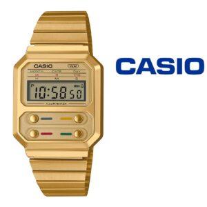 NOVIDADE - Relógio Casio® A100WEG 9A Vintage Series
