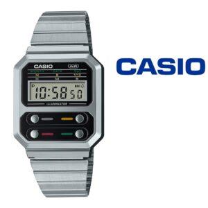 NOVIDADE - Relógio Casio® A100WE 1A Vintage Series