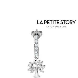La Petit Story® Brinco Individual - PS02ARQ44 - Com Caixa e Saco Oferta