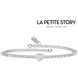 La Petit Story® Pulseira - LPS05AQC01 - Com Caixa e Saco Oferta