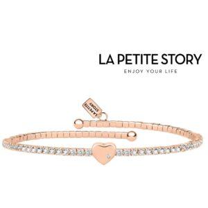 La Petit Story® Pulseira - LPS05AQC03 - Com Caixa e Saco Oferta