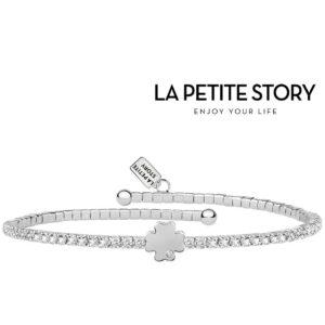 La Petit Story® Pulseira - LPS05AQC04 - Com Caixa e Saco Oferta