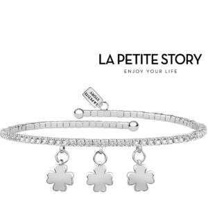 La Petit Story® Pulseira - LPS05AQC10 - Com Caixa e Saco Oferta