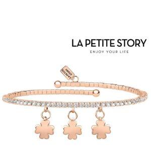 La Petit Story® Pulseira - LPS05AQC12 - Com Caixa e Saco Oferta