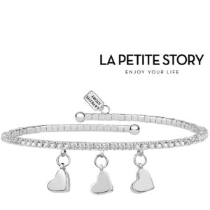 La Petit Story® Pulseira - LPS05AQC13 - Com Caixa e Saco Oferta