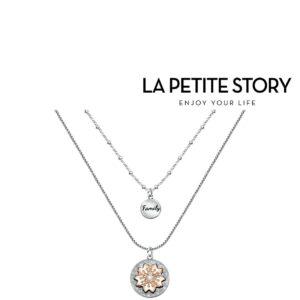 La Petit Story® Colar - LPS10ASF02  - Com Caixa e Saco Oferta