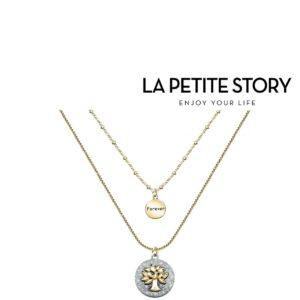 La Petit Story® Colar - LPS10ASF03 - Com Caixa e Saco Oferta