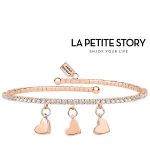 La Petit Story® Pulseira - LPS05AQC15 - Com Caixa e Saco Oferta