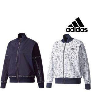 Adidas® Casaco Reversível Woman Azul / Branco - BR9508