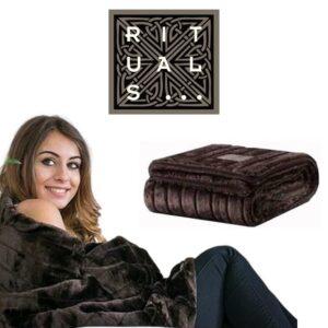 RITUALS® EXCLUSIVO EDIÇÃO LIMITADA - Manta de lã Macia de Alta Qualidade - 130 x 170 cm