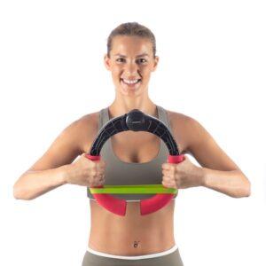 Exercitador de Braços Regulável com Resistência e Guia de Exercícios - VEJA O VIDEO