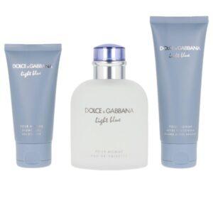 Conjunto de Perfume Homem Light Blue Dolce & Gabbana EDT (3 pcs)