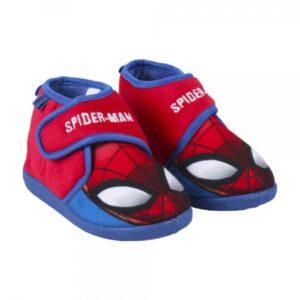 Pantufas Para Crianças Spiderman Vermelho 24