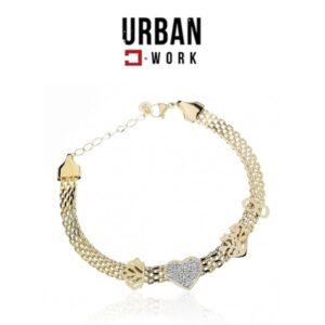 Urban Work Pulseira de Aço Cirúrgico BST1171