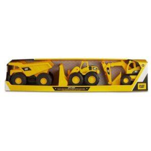 Playset de Veículos Amarelo Plástico 18 cm (3 pcs)